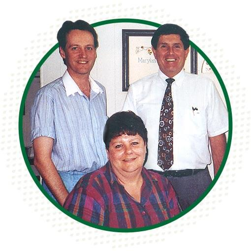 First Three Employees in 1992